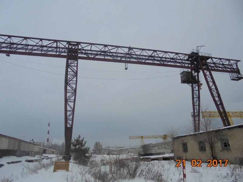 Продается Козловой кран КСК 32-32 высота подъема 18 м