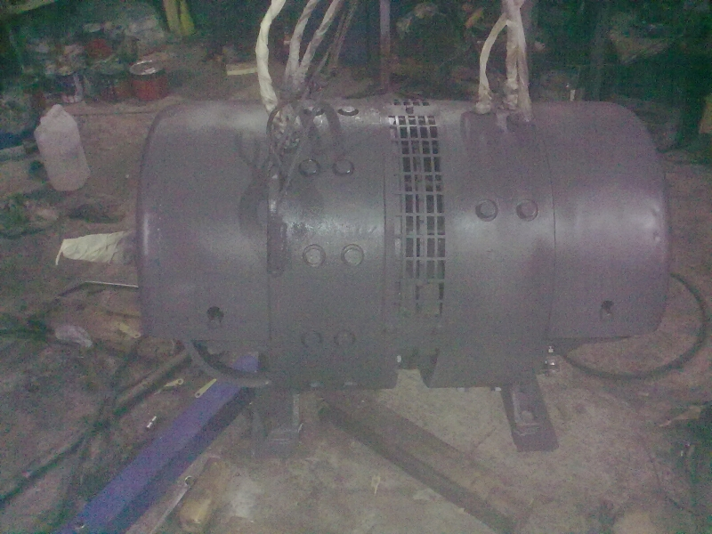 Двухмашинный агрегат тепловоза ТЭМ-2 после кап.ремонта