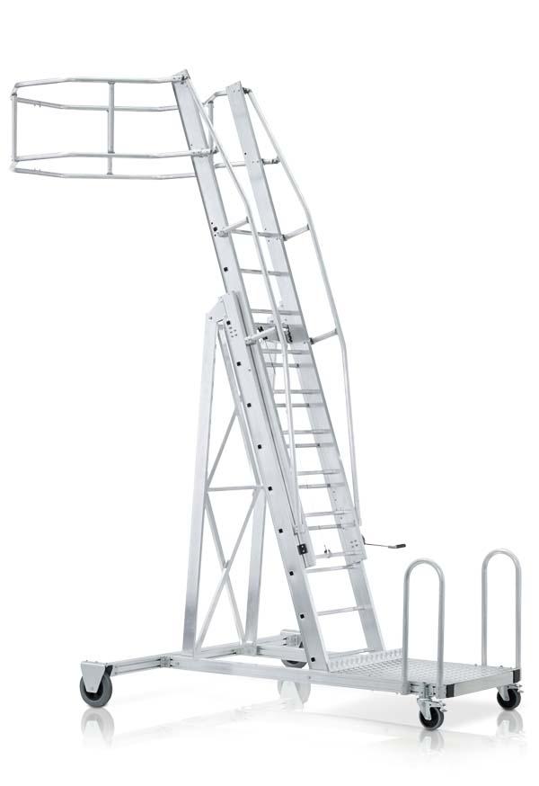 Лестницы для полувагонов, для цистерн, с крюками, для стелажей, колодцев, трапы, аварийно спасательные и другие.  Изготовителей ZARGES, KRAUSE, Мегал, ЛУЧ