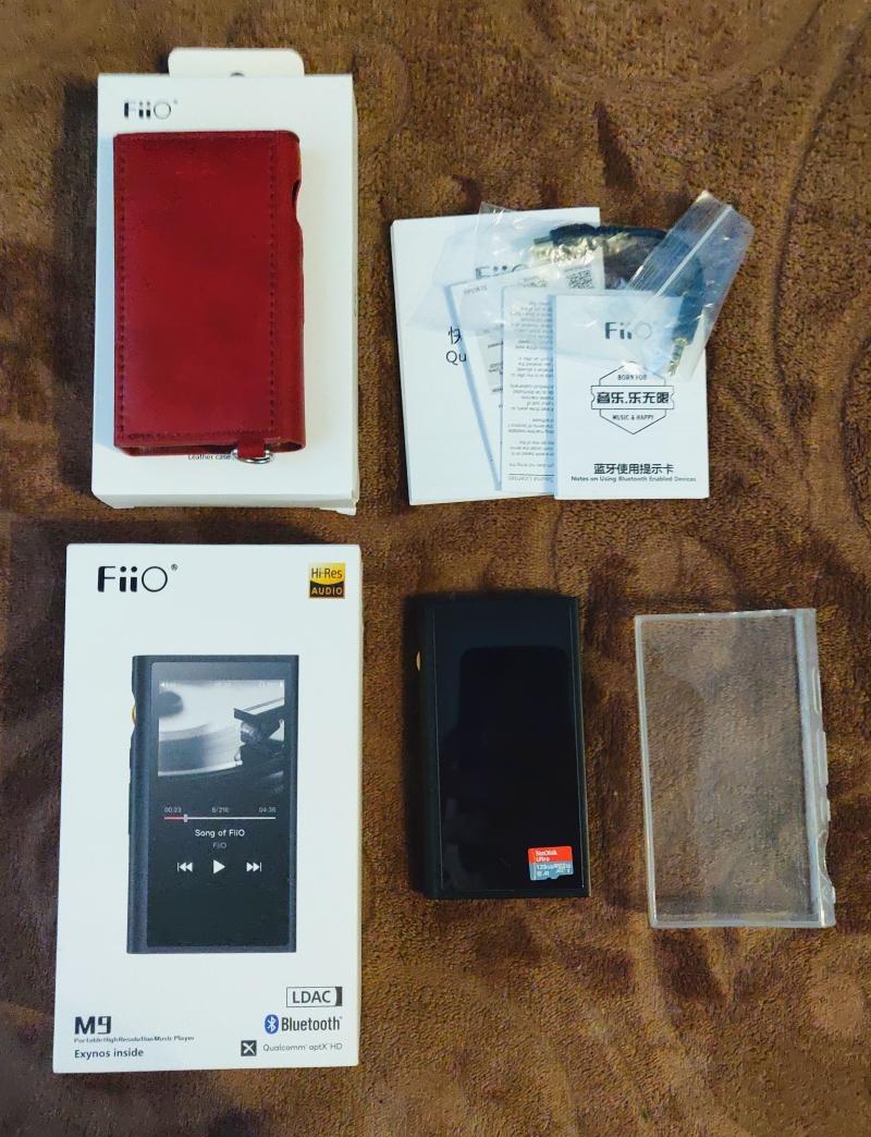 Fiio M9 Аудио плеер HiRes